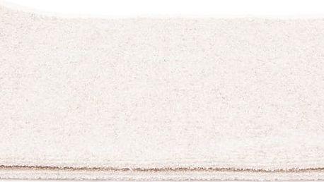 Sada 2 krémových froté osušek Casa Di Bassi Stripe, 68 x 160 cm