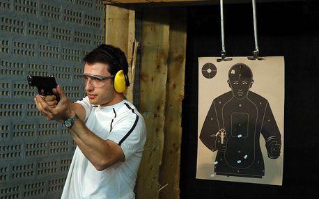 Střelba na kryté střelnici