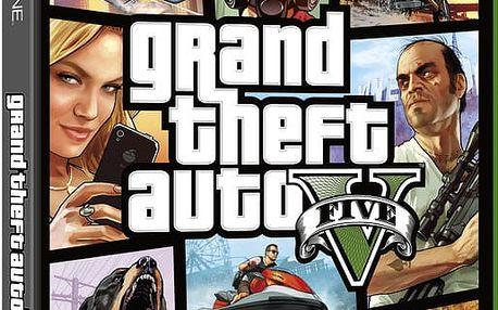 Grand Theft Auto V - XONE - 5026555284080