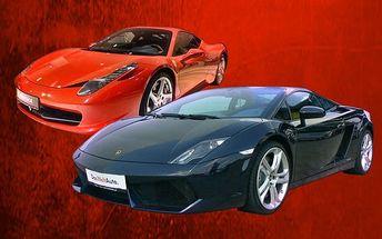 30minutová jízda v supersportu dle výběru od Premium Cars na Příbramsku