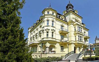 3denní wellness pobyt s polopenzí v hotelu Mignon**** v Karlových Varech