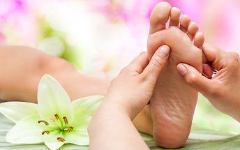 60minutová reflexní terapie plosek nohou ve studiu Sen v Praze