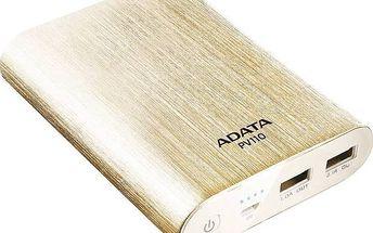 A-Data PV110 10400mAh (APV110-10400M-5V-CGD) zlatá