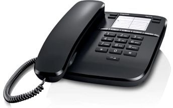 Domácí telefon Siemens DA310 (S30054-S6528-R601) černý