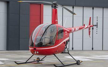 Zážitkový let nebo pilotování vrtulníku