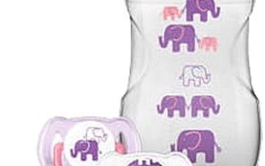 AVENT Sada Natural 260 ml (PP) Slon – dívka