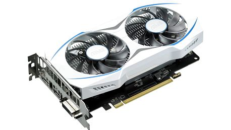 ASUS Radeon RX 460 DUAL-RX460-O2G, 2GB GDDR5 - 90YV09L2-M0NA00