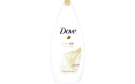 Dove Hedvábná pěna do koupele Supreme Fine Silk (Caring Cream Bath) 500 ml