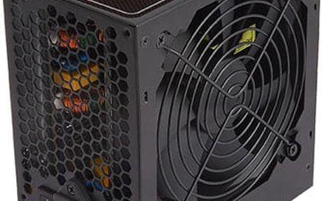 Zalman zdroj ZM600-GSII 600W 80+ ATX12V 2.3 PFC 12cm fan