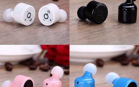 Bezdrátová bluetooth sluchátka do uší