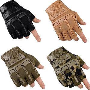 Taktické outdoorové rukavice ve čtyřech barvách