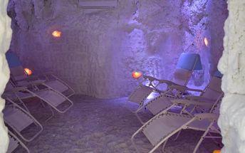Odpočinek v solné jeskyni v Českém Brodě