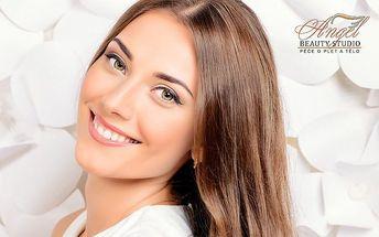 60–90minutové luxusní kosmetické ošetření pro dámy v pražském Beauty studiu Angel