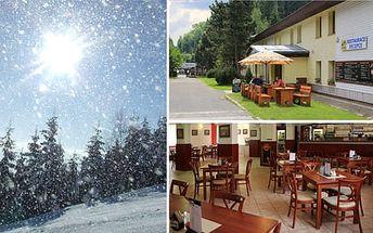 Zimní dovolená na 3 až 5 dní v Hotelu Eden pro 2 osoby s polopenzí a slevou 30% na skipasy
