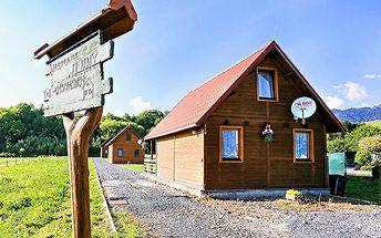 3 až 5denní pobyt až pro 9 osob na Liptově na Slovensku v dřevěnici Jenny