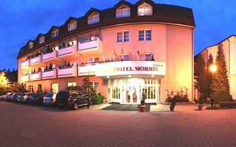 Exkluzivní romantický pobyt pro 2 osoby na 3 dny v luxusním Parkhotelu MORRIS **** v Novém Boru.