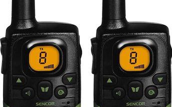 Sencor SMR 130 TWIN - sada 2 vysílaček