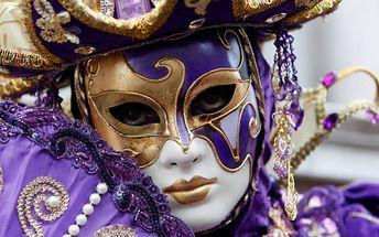 Karnevalové veselí v Benátkách - 3denní zájezd pro 1 osobu do Itálie na rej masek.