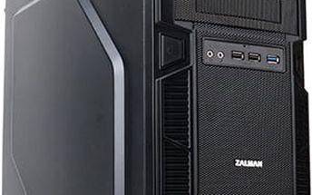 Zalman Case Mini Tower Z1 bez zdroje/ černá