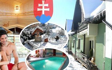 Lyžování a aquaparky na Oravě v penzionu Zeleny dom. 3, 4 nebo 6 dní pro dva, snídaně, wellness - bazén, fittness, sauna, solná jeskyně, slevy do aquaparku Oravice a na skipasy do Ski Vitanová.