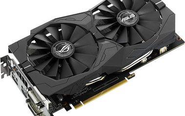 ASUS GeForce GTX 1050 Ti STRIX-GTX1050TI-O4G, 4GB GDDR5 - 90YV0A30-M0NA00