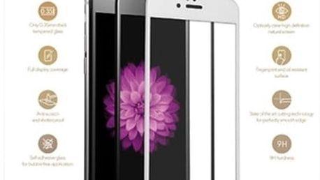 EPICO sklo 3D+ pro iPhone 6, bílá - 4412151100003 + EPICO Nabíjecí/Datový Micro USB kabel EPICO SENSE CABLE