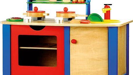 BINO Dětská kuchyňka s příslušnstvím
