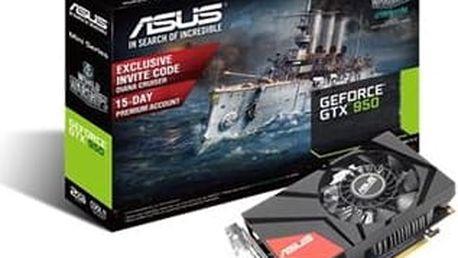 ASUS GTX950-M-2GD5 - grafická karta; 90YV08U0-M0NA00
