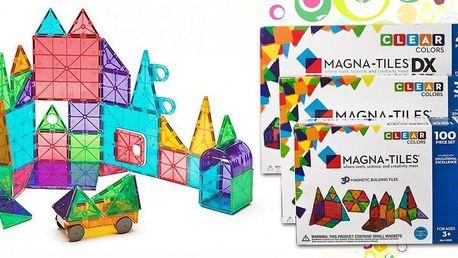 Magnetická stavebnice MagnaTiles pro vaše děti