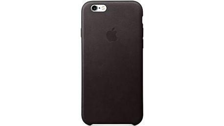 Apple Leather Case pro iPhone 6S - Black (MKXW2ZM/A)