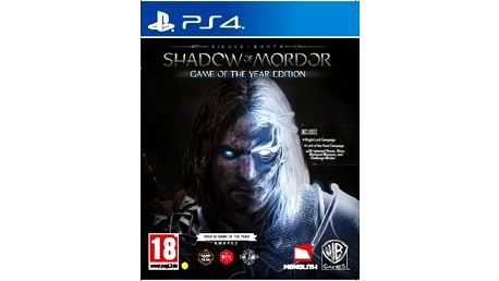 PS4 Middle-earth: Shadow of Mordor GOTY; 5051892191388