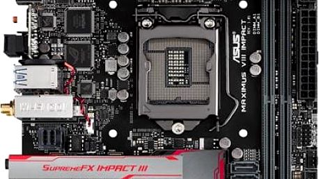 Asus MAXIMUS VIII IMPACT GAMING; 90MB0NS0-M0EAY0