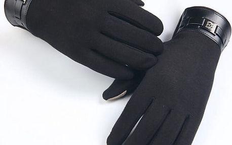 Unisex rukavice vhodné na dotykové displeje