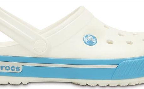Crocs Crocband II.5 White/Electric Blue, dostupné velikosti 37-38