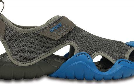 Crocs Swiftwater Sandal Graphite/Ultramarine, dostupné velikosti 41-44
