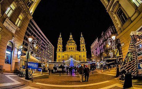 Adventní Budapešť pro JEDNOHO s prohlídkou centra a vánočních trhů
