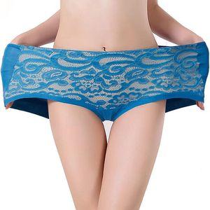 Dámské pohodlné kalhotky s přitažlivou krajkou