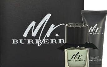 Burberry Mr. Burberry dárková kazeta pro muže toaletní voda 50 ml + sprchový gel 75 ml
