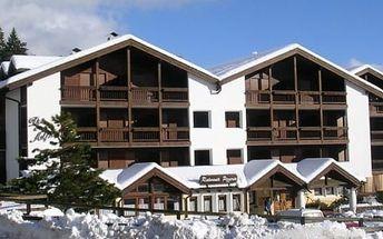 Silvestr na horách: Itálie - Val di Fiemme/Obereggen na 8 dní, bez stravy s dopravou vlastní