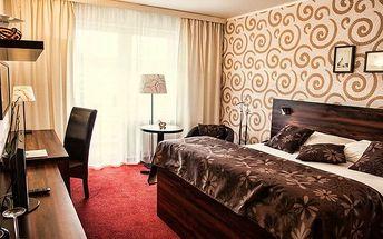 3denní romantický pobyt s wellness pro 2 osoby v Novém Boru v Parkhotelu Morris