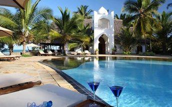 Zanzibar - Kiwengwa na 8 až 9 dní, all inclusive nebo polopenze s dopravou letecky z Prahy