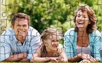 Fotopuzzle ve 3 různých velikostech! Zvěčněte svoji rodinu nebo vaše drahé momenty v populární skládačce.