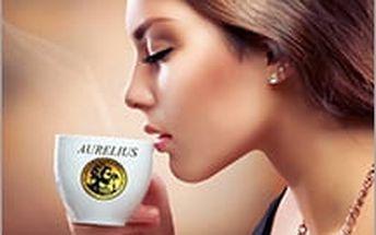 Akce pro všechny milovníky kávy! Kvalitní čerstvě pražená zrnková káva Aurelius ze Slušovic.