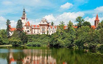 3 dny v hotelu Tulipán v Průhonicích u Prahy