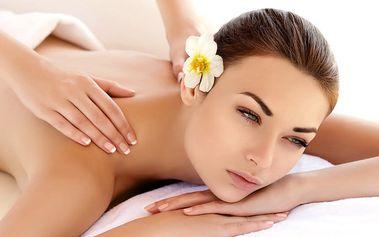 60minutová masáž s výběrem olejů