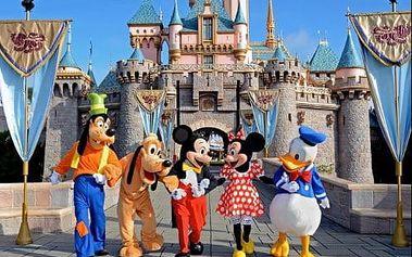Zábavný svět zázraků - Disneyland a Studio Walta Disneyho v Paříži