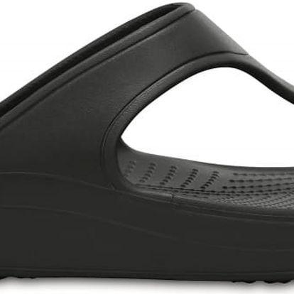 Crocs Sloane Platform Flip Black, dostupné velikosti 36-38