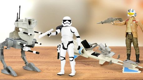 Hrdinské figurky z oficiální kolekce Star Wars