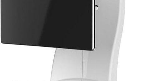 Meliconi 488087 GHOST DESIGN 2000 ROTATION Sestava pro TV a komponenty k instalaci na zeď, bílá + Zdarma Meliconi C-35 P Čisticí sprej 35 ml + utěrka z mikrovlákna + štěteček, k čištění (v ceně 139,-)
