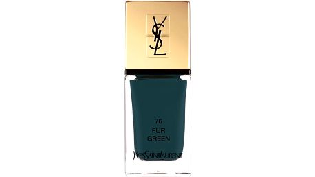 YSL La Laque Couture - Lak na nehty 76 Fur Green